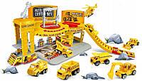 Детский гараж-паркинг PWTOYS Строительство