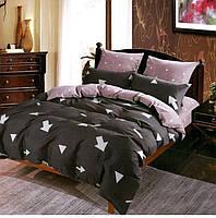 Комплект постельного белья двуспальный Евро Brown Arrow Сатин Фабричная Турция