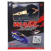 Антигравитационная машинка Climber CAR ЧЕРНАЯ MX-01 | Машинка которая ездит по стенам Wall Climber