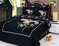 Семейный комплект постельного белья Le Vele, Buket Blac, лучшая цена!