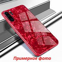 TPU+Glass чехол для Samsung Galaxy Note 10 Plus 2019 N975 Мрамор (4 цвета)