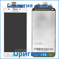 Дисплей Samsung G570F Galaxy J5 Prime белый (TFT экран, тачскрин, стекло в сборе), Дисплей Samsung G570F Galaxy J5 Prime білий (LCD екран, тачскрін,