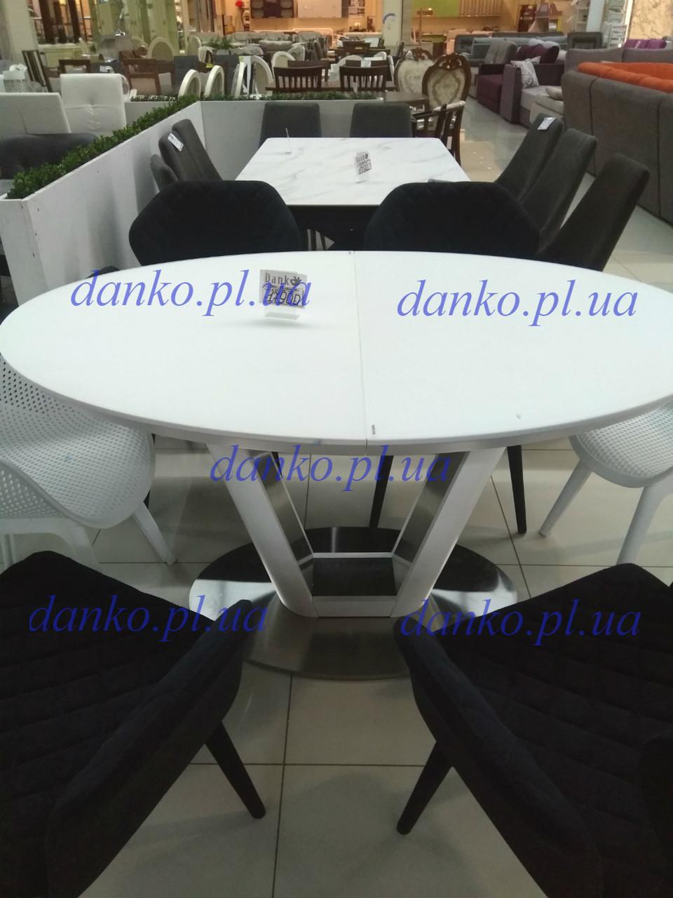 Стол обеденный DENVER (Денвер) 140/180 белый от Niсolas