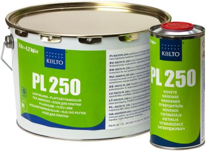 """Двухкомпонентный полиуретановый клей для плитки KIILTO """"PL-250"""" (4,9 кг)"""