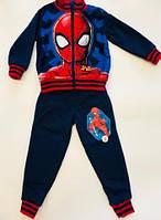 Спортивный костюм Человек Паук, флисовый костюм на мальчика 98 см
