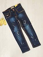 Джинсовые брюки для мальчиков, Венгрия, S&D, рр. 6-8-10-14-16  лет., арт. LY-357,