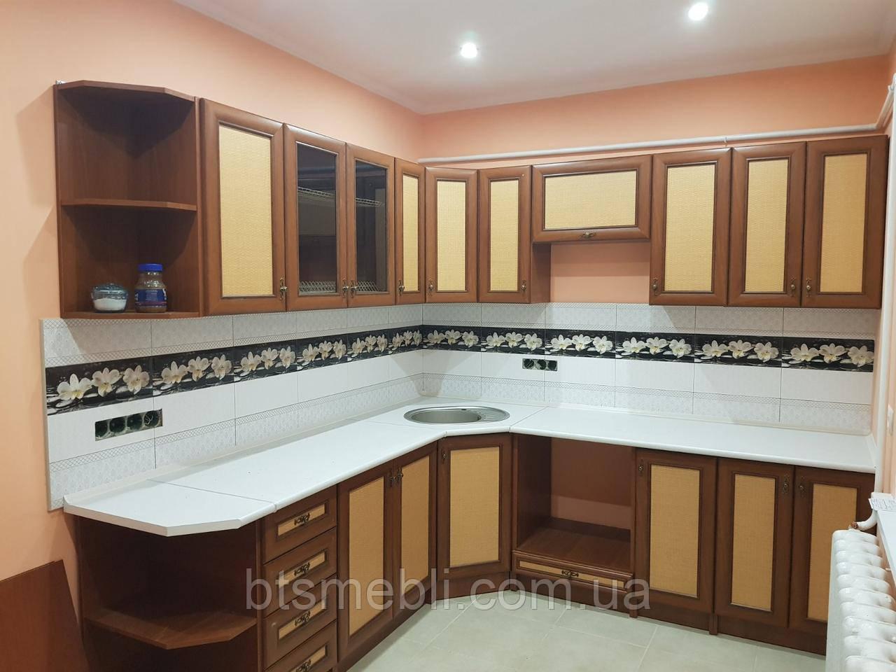Кухня Оля Люкс МДФ 2.0 м