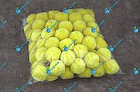 Помпони, м'які кульки, бубончики 30мм/жовтий 100шт., фото 1