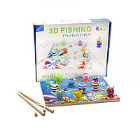 """Игра """"Рыбалка 3D. Поймай лягушку"""" Д233у-2"""
