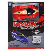 Антигравитационная машинка Climber CAR КРАСНАЯ MX-01 | Машинка которая ездит по стенам Wall Climber