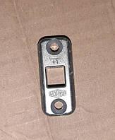 Ответная напольная планка шпингалета Vorne 18 мм на алюминиевый порог - дверная/оконная фурнитура