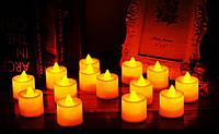 Светодиодная свеча чайная (упаковка 24шт)