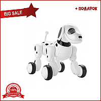 Интерактивная собака робот Smart Pet Dog щенок с голосовым управлением