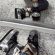 Ботинки-луноходы зимние женские /серые, 36-41, dr-17-168/, фото 2