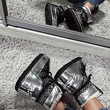 Ботинки-луноходы зимние женские /серые, 36-41, dr-17-168/, фото 3