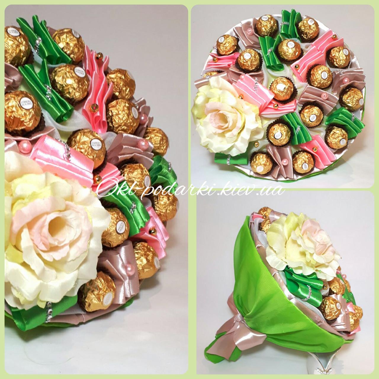 Букет из конфет Ferrero Rocher Французский луг