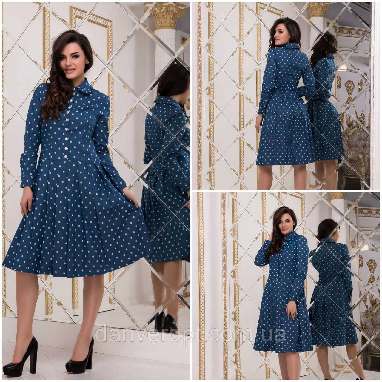 Платье-харатик женское модное стильное размер M-L купить оптом со склада 7км Одесса