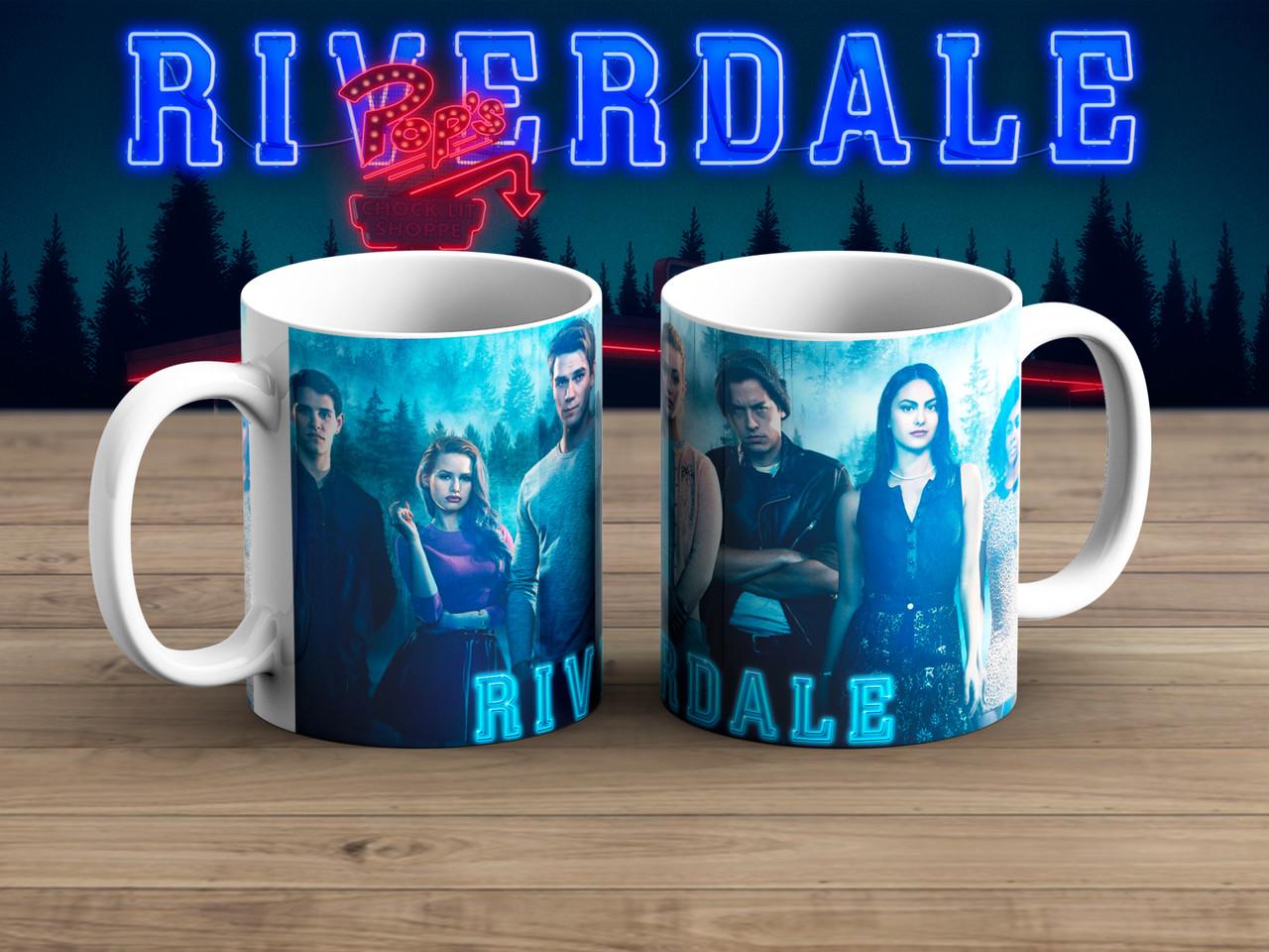 Чашка Ривердэйл / Riverdale синяя