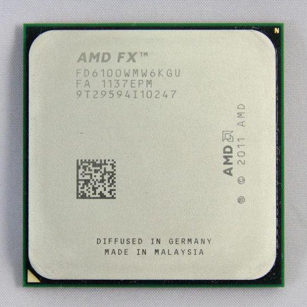 Процесор AMD FX 6100 3.3 GHz, AM3+,tray