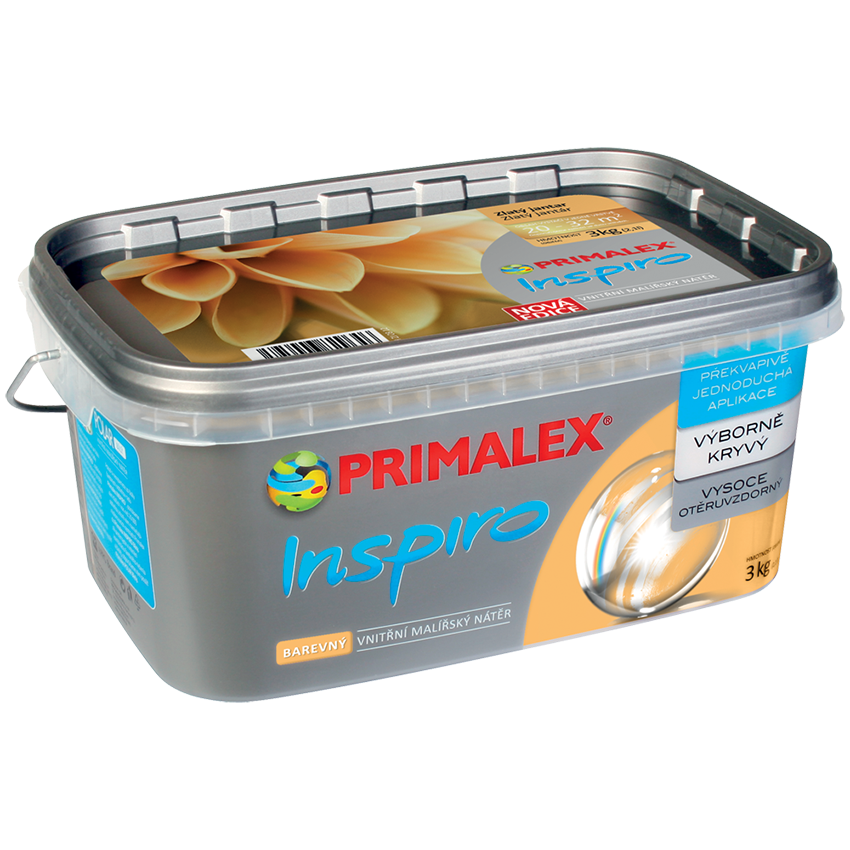 Краска интерьерная Primalex Inspiro цветная PROJECT