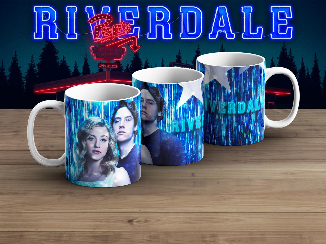 Чашка Ривердэйл / Riverdale Баклан и Бэтти