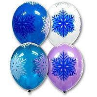 Воздушные шары Снежинки кристалл