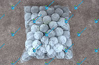 Помпоны, мягкие шарики, бубончики 30мм/ Серый 100шт., фото 1