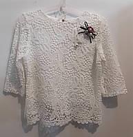 Блуза для девочек, 128,134 см,  № 13878