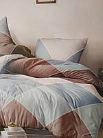Красивое постельное белье из бязи в клетку