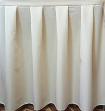 Фуршетные юбки  склада 1:2  , ткань Универсал .