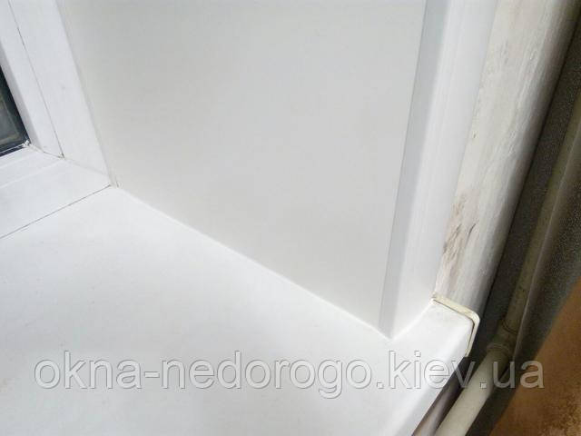 Пластиковые откосы на окна фото компании Окна Недорого