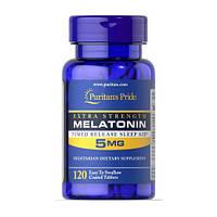 Puritan's Pride Melatonin 5 mg 120 таб