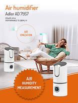 Увлажнитель воздуха Adler AD 7957 White, фото 3
