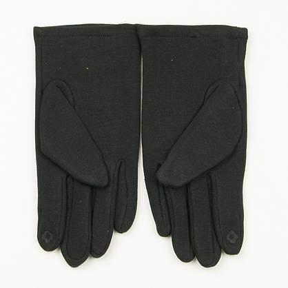 Оптом трикотажні чоловічі рукавички на плюше № 19-22-1/1, фото 3