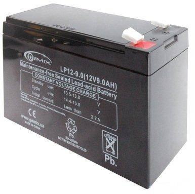 Аккумулятор для ИБП 12В 9Ач Gemix LP12-9.0 94х65х151 мм, фото 2