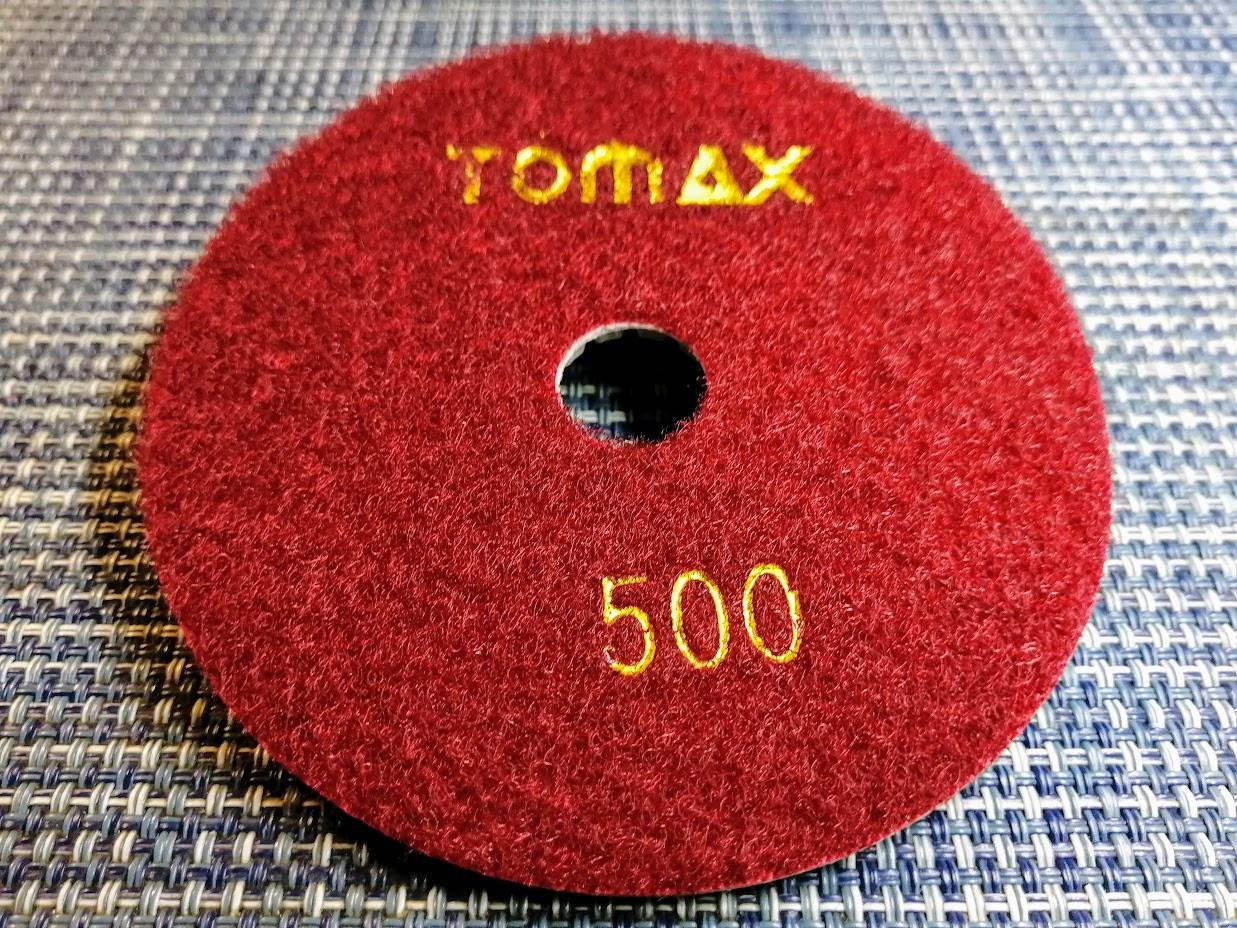 Гибкий алмазный круг (черепашка), TOMAX, Ø100 ММ, зернистость 500