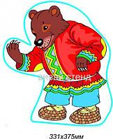 """Декорация для стен """"Медведь"""""""