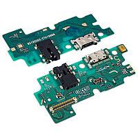 Разъём зарядки для SAMSUNG A505 Galaxy A50 (2019) на плате с микрофоном и компонентами