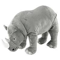 ДЬЮНГЕЛЬСКОГ Мягкая игрушка, носорог, 70408576, ИКЕА, IKEA, DJUNGELSKOG