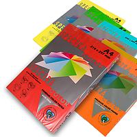 Цветная бумага Spectra Color интенсив А4, 80 г/м2 250