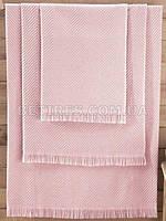Полотенце бамбуковое 70x140 ISSIMO ANDORRA POWDER(PUDRA) розовое