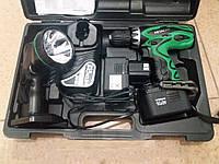 Шуруповерт Hitachi DS14DVF3 14,4В. (Оригинал, Япония) + фонарик. 2 батареи. Гарантия от производителя 3 года