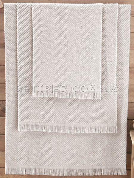 Рушник бамбукове 50x90 ISSIMO ANDORRA ECRU(EKRU) молочне