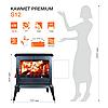 Печь отопительная Kawmet Premium S12 12,3 kW, фото 2