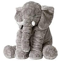 ДЬЮНГЕЛЬСКОГ Мягкая игрушка, слон, серый, 70373591, ИКЕА, IKEA, DJUNGELSKOG