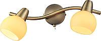 Спот Altalusse INL-9333W-02 Antique brass Е14 2х40Вт