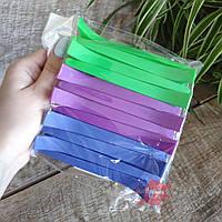 Зажим пластиковый цветной для волос 12 шт, YRE