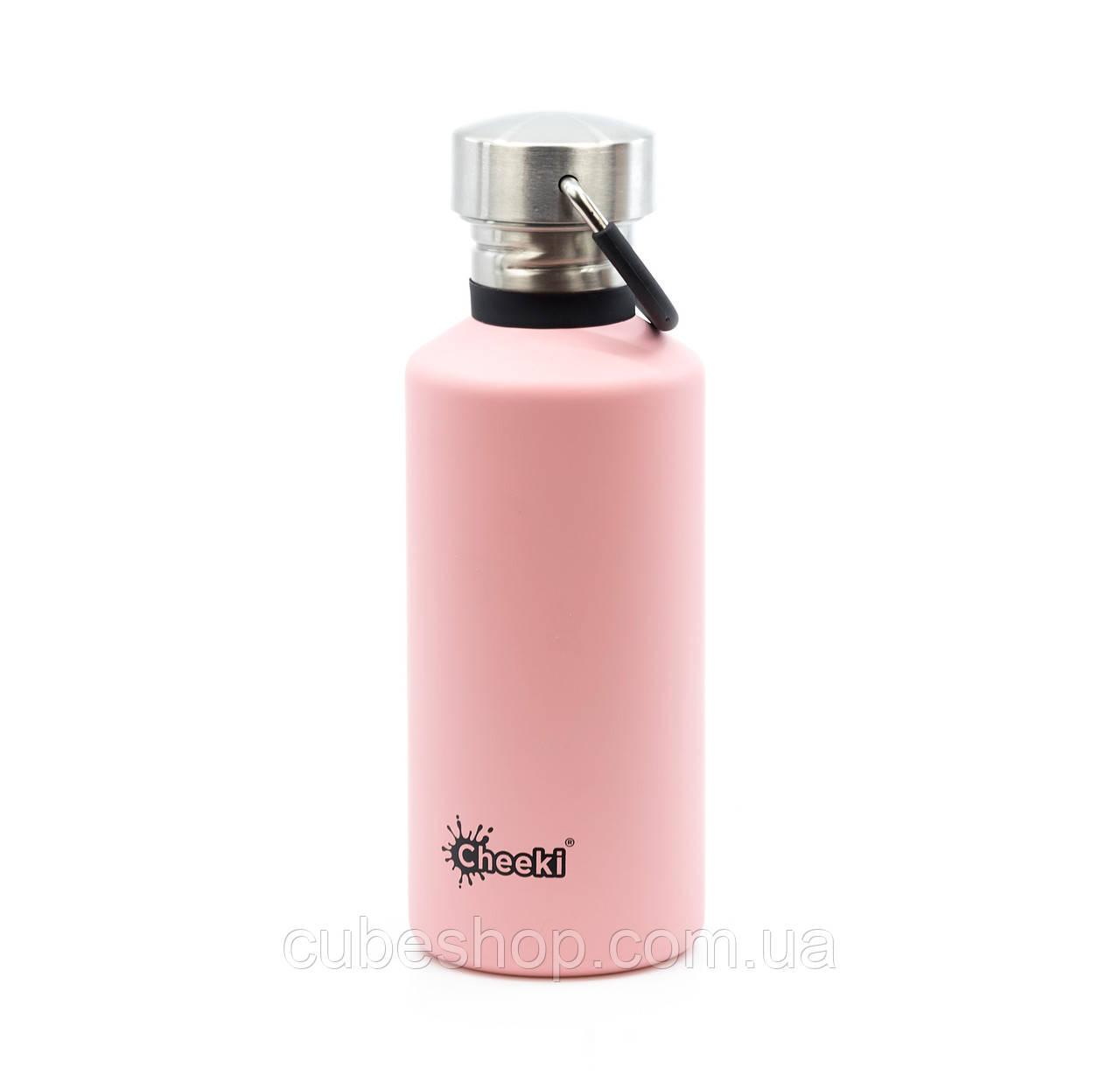 Бутылка для воды Cheeki Classic Single Wall Pink (500 мл)