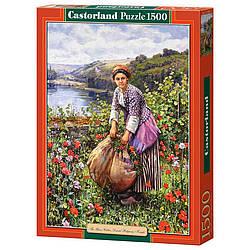 Пазлы Castorland Крестьянка C-151004, 1500 элементов