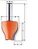 Фреза Фигирейная CMT 38х38х76,2 мм хв.12мм (арт 990.603.11)